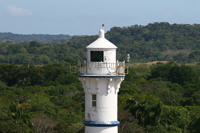 Lighthouse at Gatun Locks