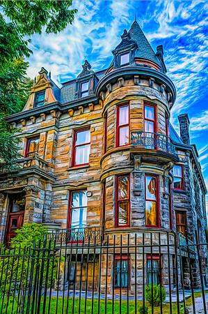 Franklin Castle / Tiedemann House, Cleveland's Ohio City