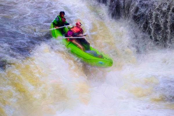 Kayak Race Cuyahoga Falls