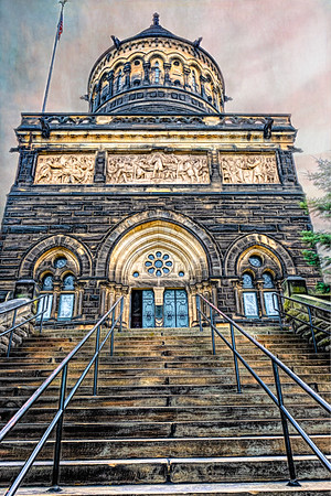 James Garfield Memorial, The Lake View Cemetery