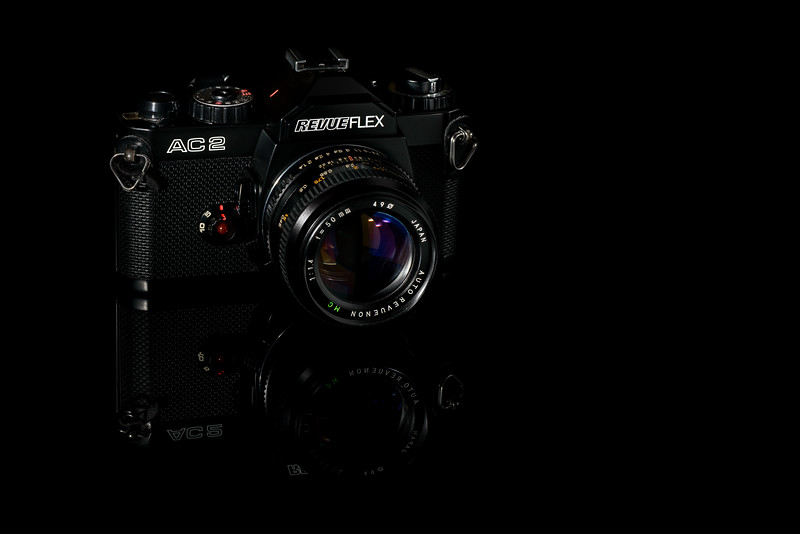 Nice old film camera RevueFlex AC2