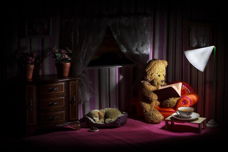"""""""Bedtime story"""" in LightBrush"""