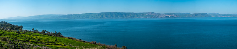 The Sea of Galilee and Tiberius
