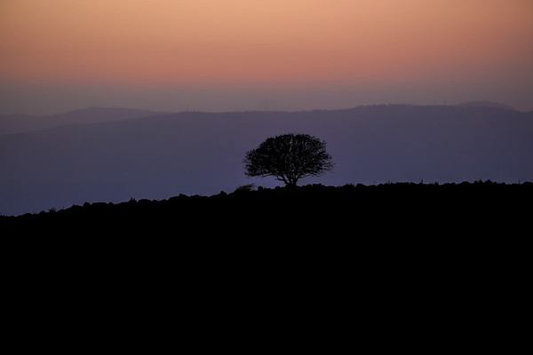 Sunset Golan Heights, Israel