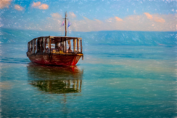 Sailing the Sea of Galilee by Ginosar