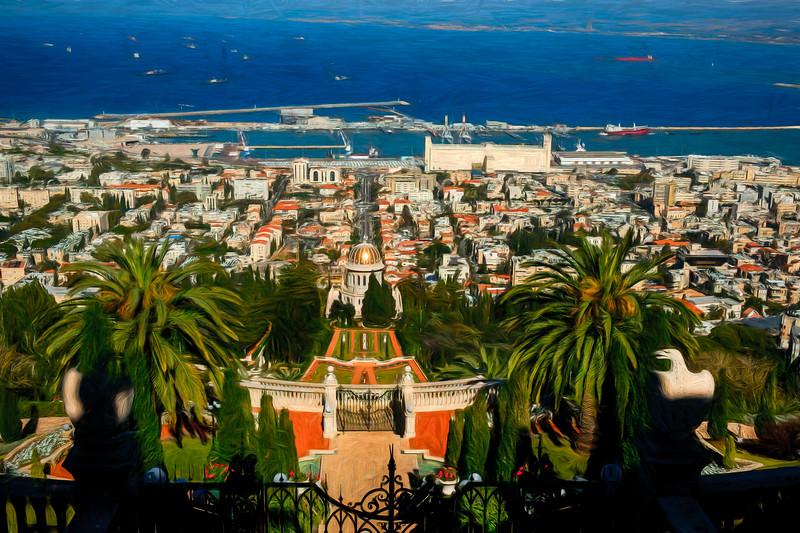 Haifa City Scape, Israel