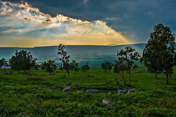 The Galilee Mountains, Israel
