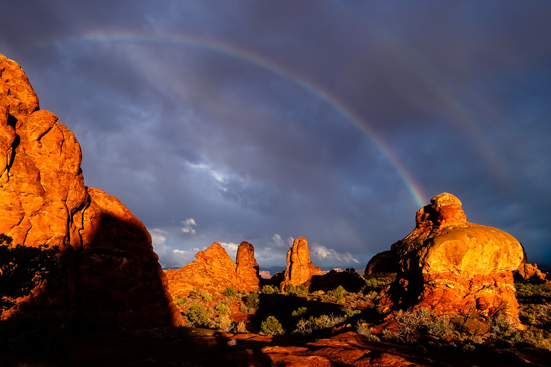 Arches National Park, Utah, by The Windows