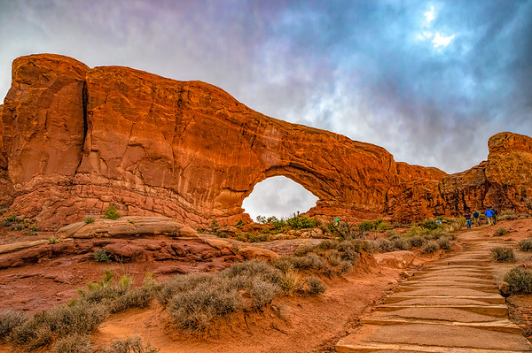North Window Arch,  Arches National Park, Utah