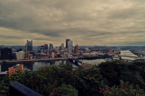 The Magnificent Cityscape of Pittsburgh, PA