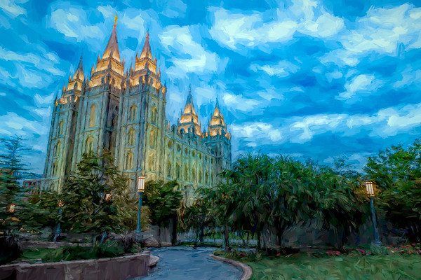 The Temple at Salt Lake City