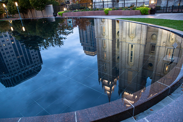 Salt Lake Temple Reflections