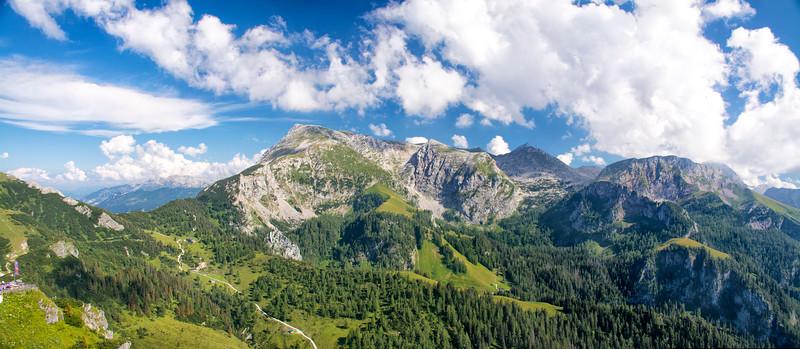 View from Mt. Jenner; Schönau am Königssee, Bavaria Germany