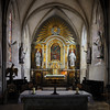 Church St Mere Eglise; Normandy, France