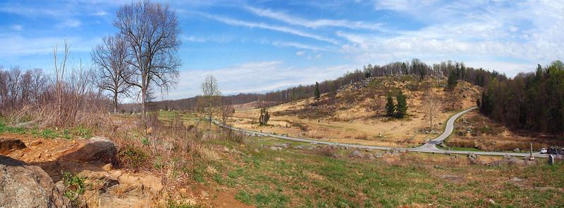 View of Little Round Top Gettysburg, Pennsylvania