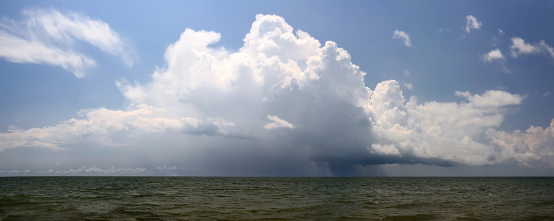 Thunderstorm off of Hilton Head Island, South Carolina