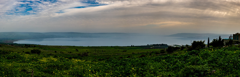 Vered Hagalil Overlooking The Sea of Galilee