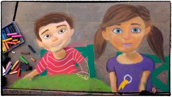 Chalk Festival Cleveland Art Museum