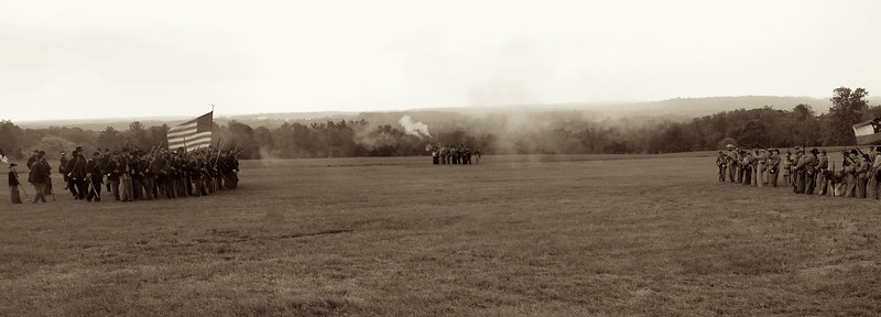 Civil War Reenactment, Burton, Ohio