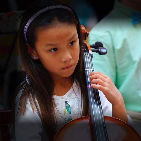Suzuki Cello Concert @ The Botanical Garden, Cleveland, Ohio