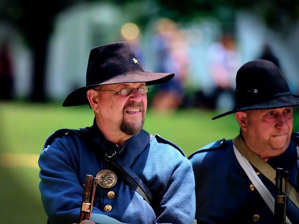 Civil War Reenactment, Burton, Ohio