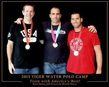 Tiger Water Polo - Olympian Clinic 2013