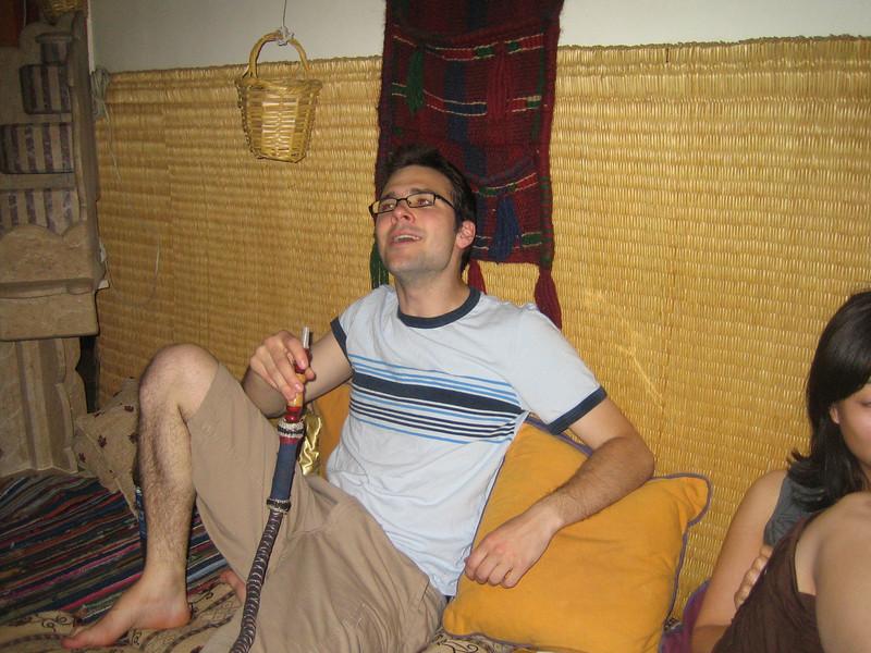 05 - vance enjoying his shisha