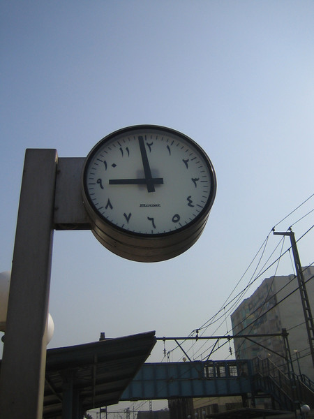 02 - arabic clock