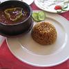 38 - stewed nile perch