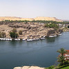 20 - pano view of aswan from hotel room