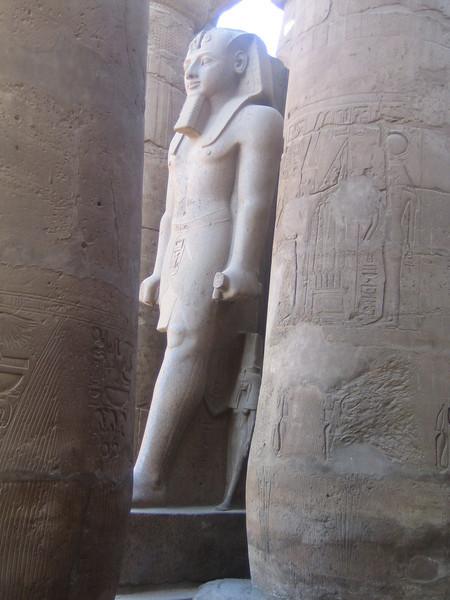 161 - statue in Luxor temple