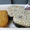 016 - onigiri and fired potato