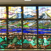 016 - stained glass in kagoshima station
