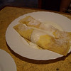 16 - Crepe with cheese, sour cream and sugar