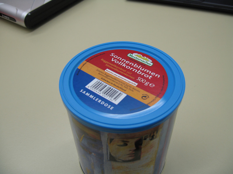1 - Canned bread