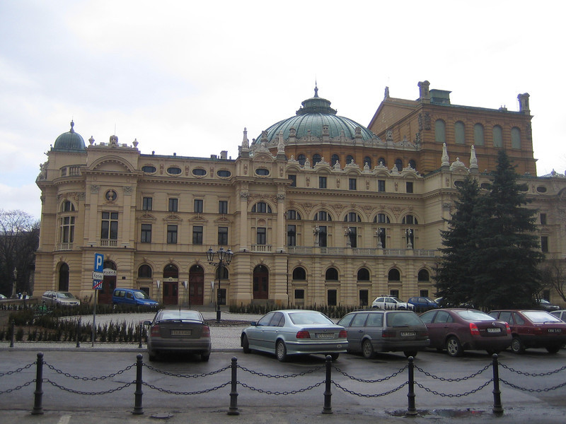 001 - The Slowacki Theatre