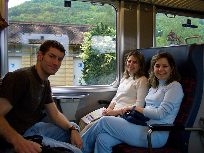 001 - On the train to Waldshut
