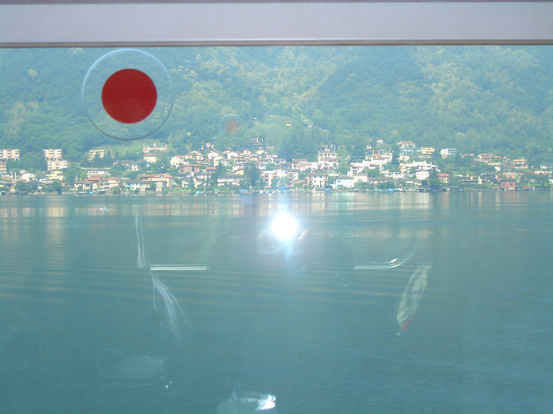 01 - lugano from the train