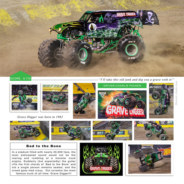 Grave Digger at Monster Jam World Finals XIX