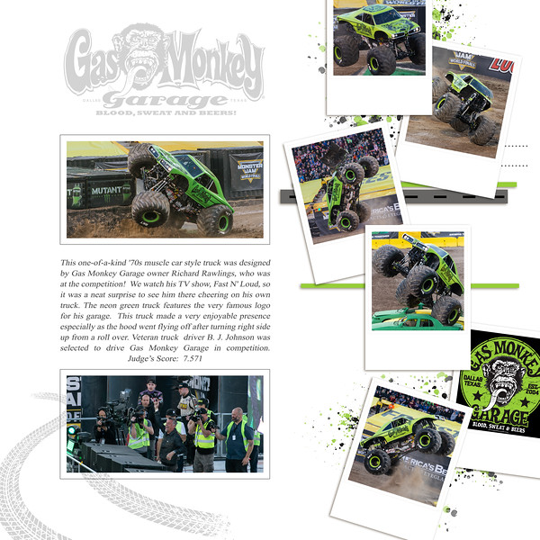 Gas Monkey Garage at Monster Jam World Finals XIX