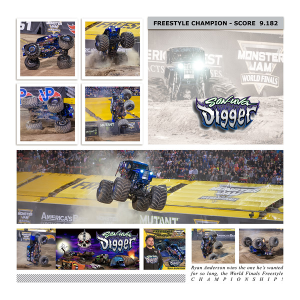 Son-uva Digger at Monster Jam World Finals XIX