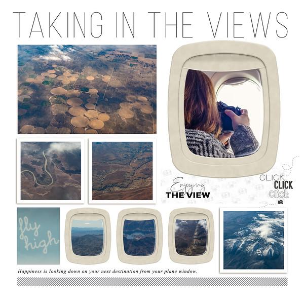 Vacation, flight from Albany to Las Vegas