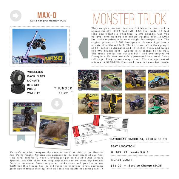 Monster Jam World Finals XIX