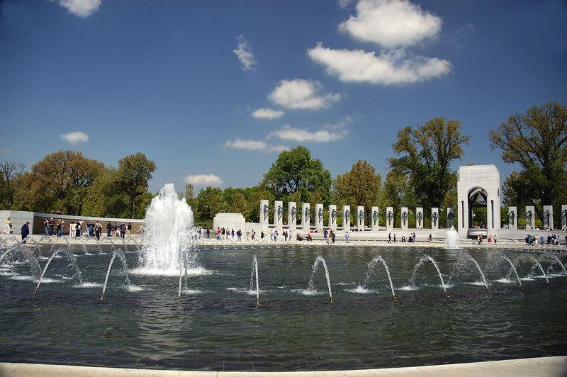 World War II Memorial; Washington, DC 2005