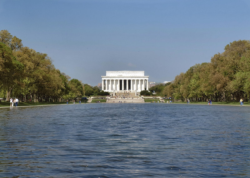 Lincoln Memorial; Washington, DC 2005