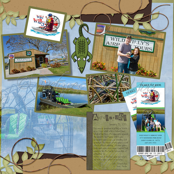 Wild Willy's Airboat Tour 1