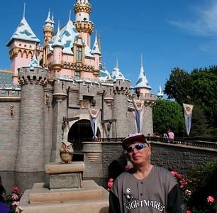 Me in  front of Disneyland Castle