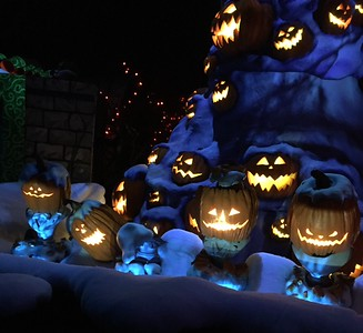 Nightmare Before Christmas at Haunted Mansion Disneyland