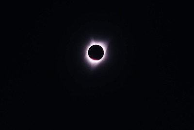 """Solar Eclipse"" As seen from Oregon"