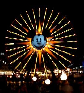 The Mickey Sun Wheel at Disney California